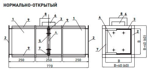 Конструктивная схема клапана «ФАЕР-4М»